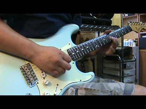 Stratocaster - Blues Funk Jam