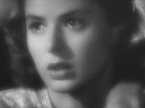Ingrid Bergman - Scenes from Casablanca