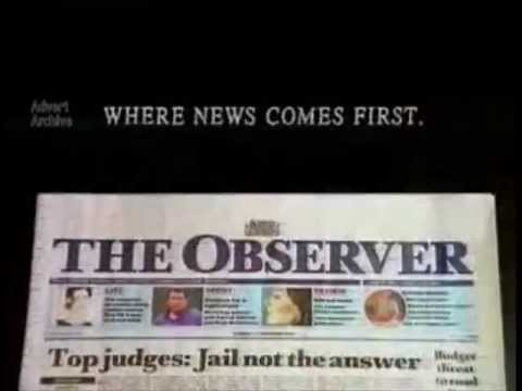 The Observer News paper
