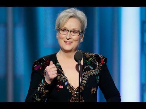 Meryl Streep - Golden Globes and Trump Tweets (2017)