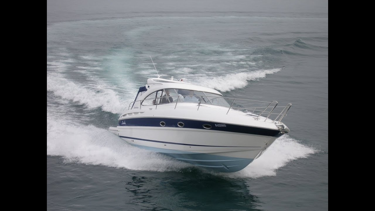 Bavaria 35 sport hard top motor boat test with 2 x volvo Best motor boats