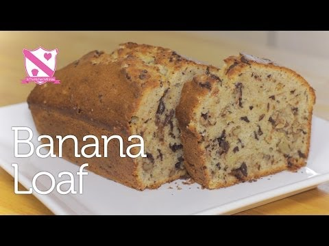 Chocolate Banana Loaf Recipe