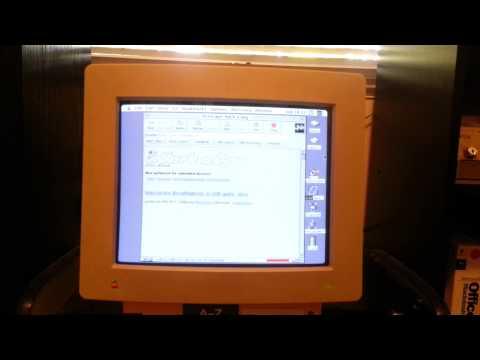 Netscape Navigator 2.02 on an Apple Macintosh II