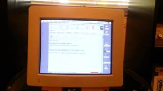 Netscape Navigator 2.02 on an Apple Macintosh II