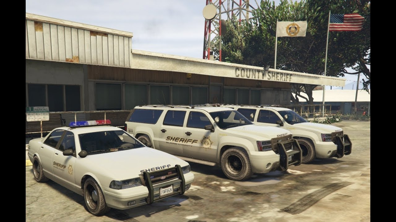 HOW TO BE A COP ON XBOX ONE/PS4 ONLINE (GTA 5)