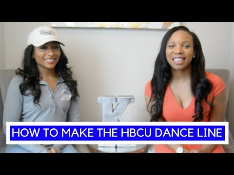 How to Make the HBCU Dance Line