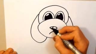 Zeichnen Sie ein cartoon-Hund, in 2 Minuten von Shaun Ryan