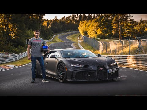 Bugatti Chiron Pur Sport PROTOTYPE Nürburgring Experience | WORLD EXCLUSIVE
