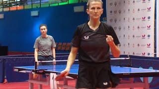 Победный сет Ольги Воробьевой в полуфинале чемпионата России-2021
