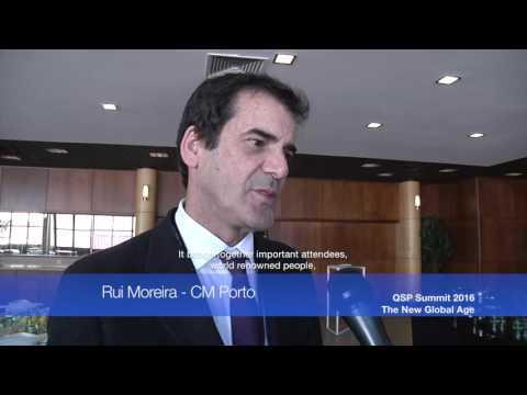 Rui Moreira – CM Porto - QSP Summit 2016