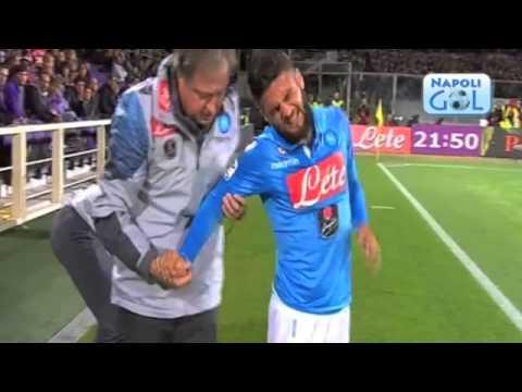 Infortunio Lorenzo Insigne (Fiorentina-Napoli 2014-15)