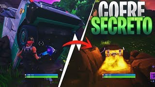 HOW TO OPEN THE SECRET BOX OF THE TRUCK! FORTNITE BATTLE ROYALE ? @AntavoxYT