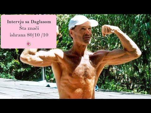 """Šta znači """"ishrana 80 10 10"""" - Intervju sa dr Daglasom Gremom"""