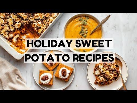 Holiday Sweet Potato Recipes | Vegan + Easy!