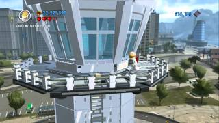 LEGO City Undercover - All 20 Districts Conquered (Rex Fury Astronaut Unlocked!)