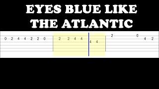 Sista Prod - Eyes Blue Like The Atlantic (Easy Guitar Tabs Tutorial)