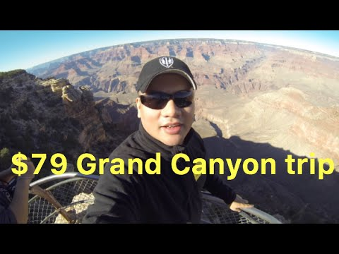 $79 Grand Canyon bus tour (quick 1 day tour)
