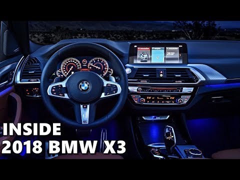 2018 BMW X3 INTERIOR - Features & Equipment - YouTube
