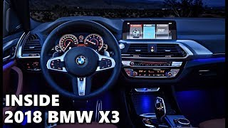 2018 BMW X3 INTERIOR - Features & Equipment