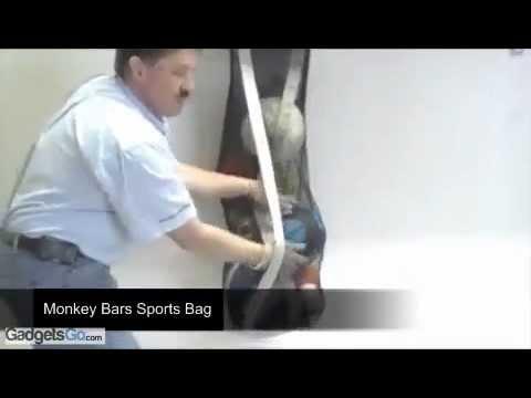 Monkey Bars Sports Gear Garage Wall Storage Rack