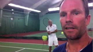 TRY this - Spin on groundstrokes