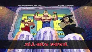 """From WWE Studios: """"The Flintstones and WWE: Stone Age SmackDown"""""""