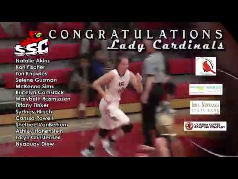 South Sioux High School Cardinals Girls State Basketball Salute