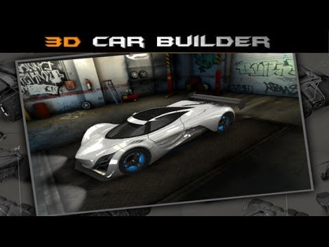 Car Design Game >> 3d Car Builder Iphone Ipad Game Youtube