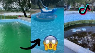 Satisfying Pool Cleaning Videos | TikTok Part 2