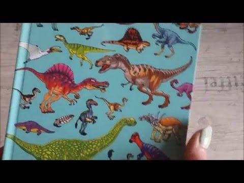 """Листаем книгу """"Динозавры"""" Найди и покажи"""