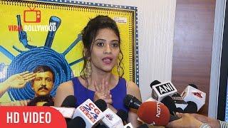 aditi sharma full interview saat uchakkey trailer launch