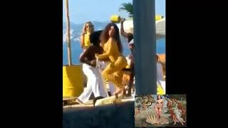 Anitta e ozuna- muito calor (gravam clipe, bastidores)