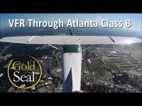 VFR Flight Through Class B with ATC Communications