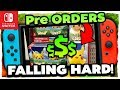 POKEMON SWITCH NEWS!? - PRE ORDERS FALLING AT ALARMING RATE FOR Pokémon Let's GO Pikachu & Eevee