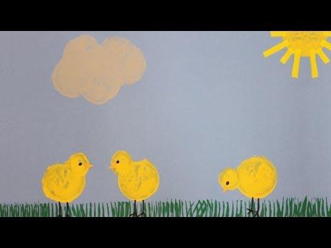 Bricolage enfant champignon avec rouleau de papier toi - Bricolage simple pour enfant ...