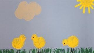 Bricolage de Pâques pour la maternelle