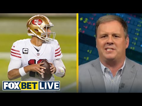 Cousin Sal likes Garoppolo & 49ers to deliver another loss to Cam & Patriots | NFL | FOX BET LIVE
