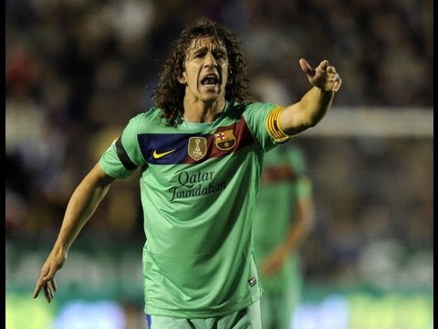 Barcelona defender Carles Puyol pays tribute to Pep Guardiola