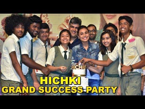 Rani Mukherjee's HICHKI Movie GRAND...