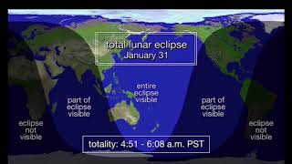 Super blue blood moon timeWhen is the lunar eclipse in India, Australia, UK and US