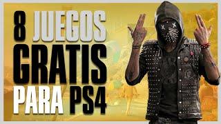 ¡GRATIS AHORA 8 JUEGOS PARA PS4!