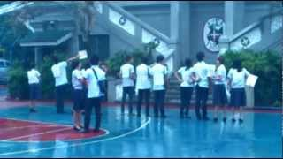 Sweet surprise for Girlfriend - Letran