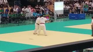 インターハイ柔道 100超級 決勝戦