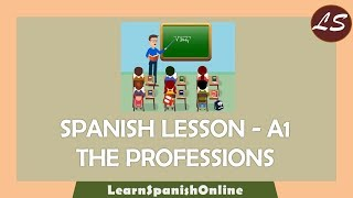 Learn Spanish Online   What do you do for a living?   A1