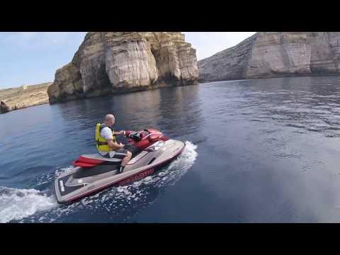 Jet Ski Ride to Dwejra Inland Sea, Gozo, Malta 9-Mar-2019