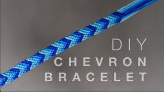 DIY Chevron-Freundschaft-Armband