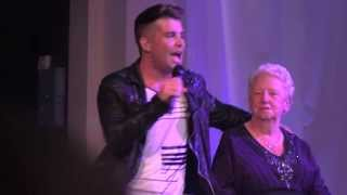 Joe McElderry & his Grandma Hilda - The Hungry Years - Rainton Meadows Arena