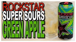 Rockstar Super Sour Green Apple Product Review