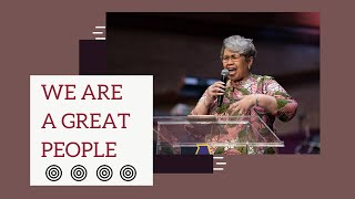 We Are A Great People | Rev. Elaine Flake | Allen Virtual Experience