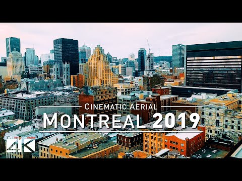 【4K】Drone Footage   MONTREAL 2019 ..:: The City Of Saints   Downtown · Olympic Park · Stade Saputo